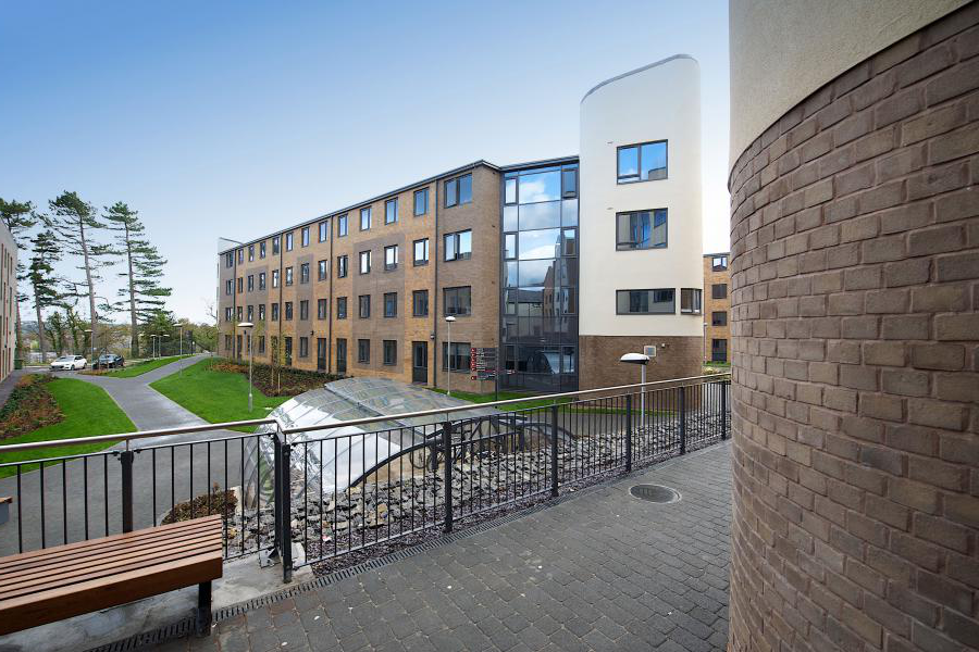 Student accommodation at Mary's Student Village