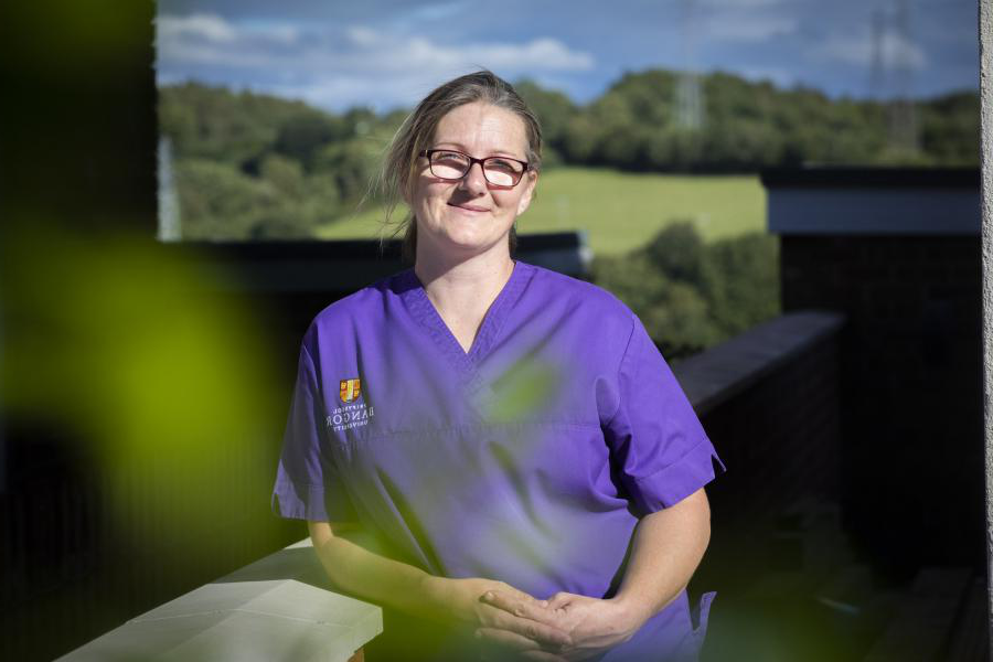 Mum of six achieves her dream to become a nurse